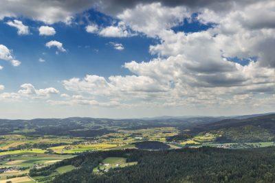 Aussichtsturm im Böhmerwald: Alpenblick - Hotel INNs HOLZ