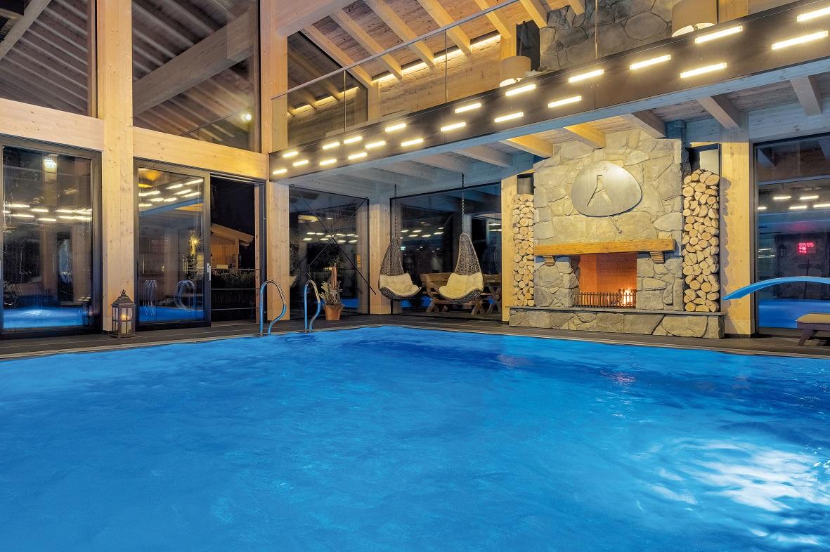 Hotel mit Wellnessbereich und Innenpool im Böhmerwald - INNs HOLZ