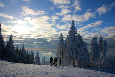 Skifahren am Hochficht - INNs HOLZ