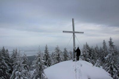Winterwandern zum Bärenstein im Böhmerwald - INNs HOLZ